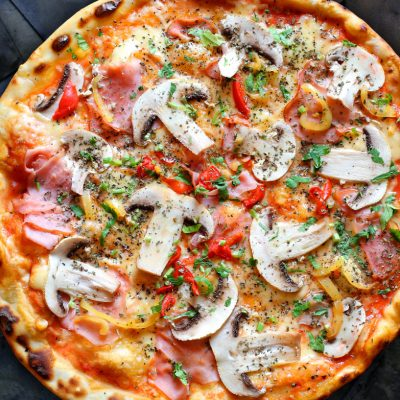 Pica, Šķiņķis, Recepte