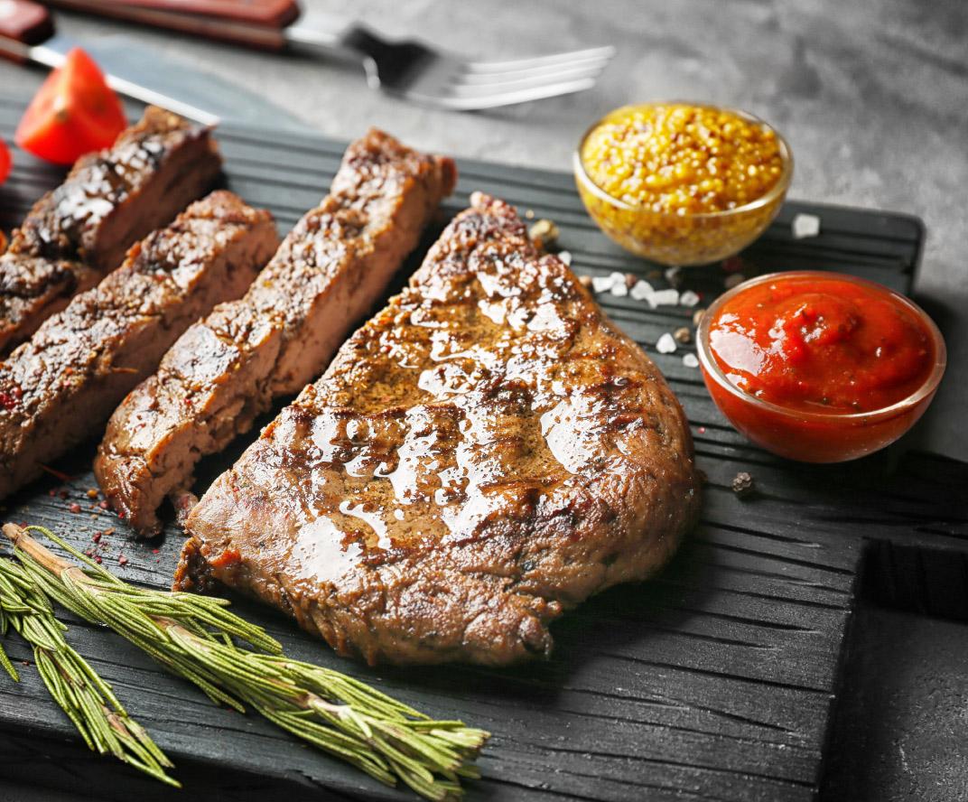 Gards un sulīgs steiks