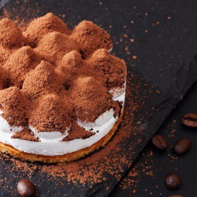 Teramisu, maskarpone, deserts, kafijas pupiņas, recepte