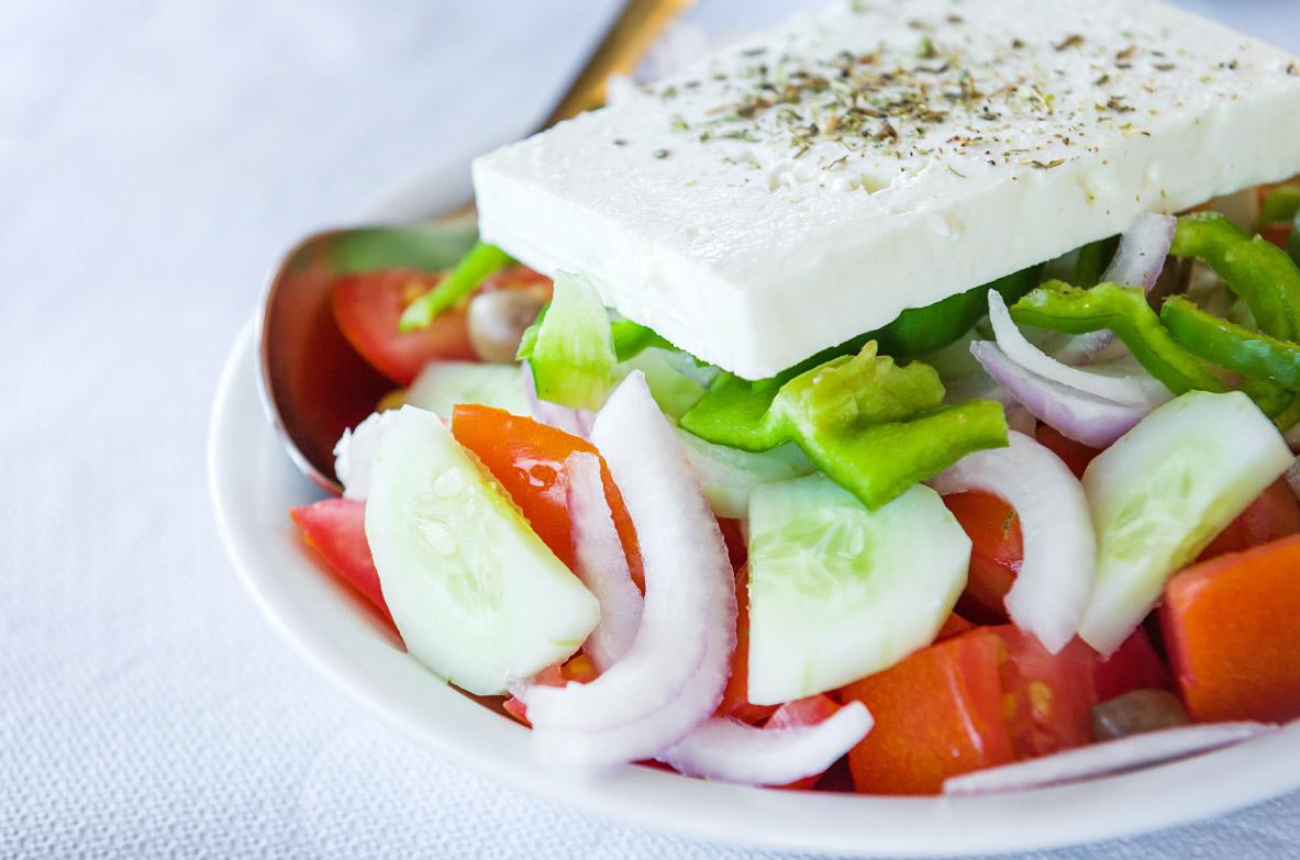 Tradicionālie grieķu salāti